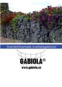 Katalog med gabionbilder